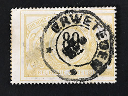 TR24 Telegraafstempel ERWETEGEM - 1895-1913