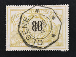 TR24 Telegraafstempel OLSENE - 1895-1913