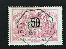TR21 Telegraafstempel WERVICQ - 1895-1913