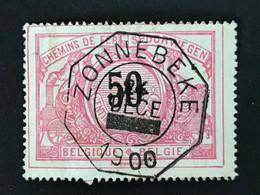 TR21 Telegraafstempel ZONNEBEKE - 1895-1913