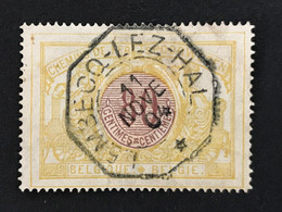 TR39 Telegraafstempel LEMBECQ-LEZ-HAL - 1895-1913