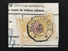 TR39 Telegraafstempel HENNUYERES - 1895-1913