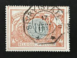 TR28 Telegraafstempel SIVRY (STATION) - 1895-1913