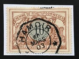 TR28 Telegraafstempel HAMOIR - 1895-1913
