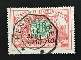 TR35 Telegraafstempel HENNUYERES - 1895-1913