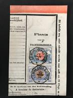 TR30+38 Telegraafstempel LEMBECQ-LEZ-HAL - 1895-1913