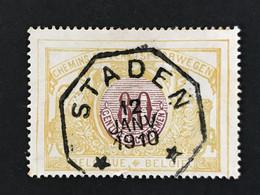 TR39 Telegraafstempel STADEN - 1895-1913
