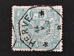 TR79 Telegraafstempel HERVE - 1915-1921