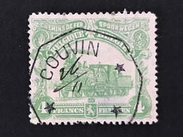 TR97 Telegraafstempel COUVIN - 1915-1921
