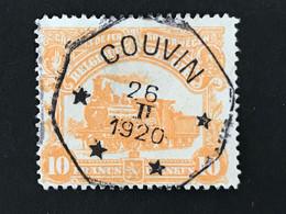 TR99 Telegraafstempel COUVIN - 1915-1921