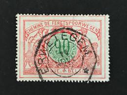 TR40 Telegraafstempel ERWETEGEM - 1895-1913
