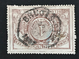 TR26 Telegraafstempel BRUGES Ston - 1895-1913