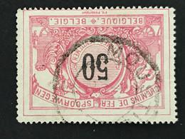 TR35 Telegraafstempel MOUSTIER - 1895-1913