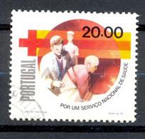 Oblitéré - Portugal - 1979 Y&T 1446 - National Health Service Campaign - 20 $ -  Croix-Rouge Croissant Rouge - (1) - Unclassified