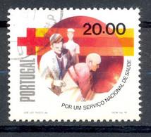 Oblitéré - Portugal - 1979 Y&T 1446 - National Health Service Campaign - 20 $ -  Croix-Rouge Croissant Rouge - (2) - Unclassified