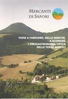 (AN) FABRIANO, MERCANTI DI SAPORI - Cartolina Nuova - Andere Städte