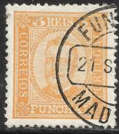 Funchal – 1892 King Carlos 5 Réis Used Stamp - Funchal