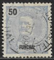 Funchal – 1898 King Carlos 65 Réis Used Stamp - Funchal