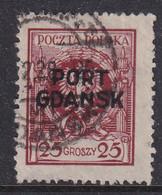 POLAND 1925 Port Gdansk Fi 8 Used - Occupations