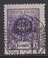 POLAND 1925 Port Gdansk Fi 9 Used - Occupations