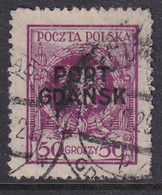 POLAND 1925 Port Gdansk Fi 11 Used - Occupations