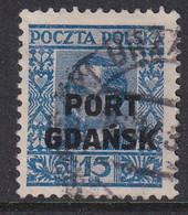 POLAND 1930 Port Gdansk Fi 21 Used - Ocupaciones