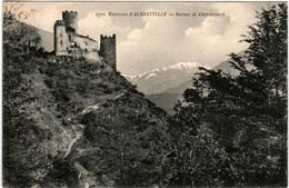 3FB 42 CPA - ENVIRONS D' ALBERTVILLE - RUINES DE CHANTEMERLE - Albertville