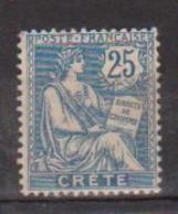 CRETE        N° YVERT   9   NEUF AVEC CHARNIERES  ( CH 01/40 ) - Unused Stamps