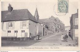 BERG-  LE NOUVION EN THIERACHE  DANS L'AISNE RUE CAUDRON   CPA  CIRCULEE - Ohne Zuordnung
