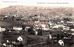 CPA BOURGOIN - ISERE - PANORAMA - Bourgoin