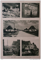 Marché à Nuremberg - Markt In Nürnberg - Meusdorf Près Leipzig - Page Original  1937 - Historische Dokumente