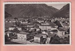 OUDE POSTKAART  ZWITSERLAND - SVIZZERA - BELLINZONA - 1953 - TI Ticino