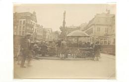 TRIER/Trèves (allemagne)  - Place Du Marché (photo En 1929, Format 11,1 Cm X 8,2 Cm) - Luoghi
