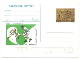 1999 - Italia C244 Europei Di Hockey - Cartolina Postale - Rasenhockey