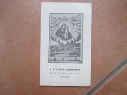 B. V. MARIA ACHIROPITA Speciale Protettrice Della Città Di Rossano  1969 - Devotion Images
