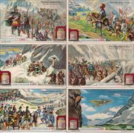 LIEBIG S 1073-MEMORABLES PASSAGES DES ALPES-VA785-1913-6ST.FRANS - Liebig