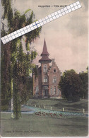"""CAPPELLEN-KAPELLEN""""VILLA DES HIRONDELLES"""" HOELEN N°4304TYPE 5 UITGIFTE 1909-GEKLEURDE PK - Kapellen"""