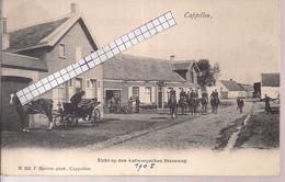 """CAPPELLEN-KAPELLEN""""ANTWERPSCHE STEENWEG-RUITERS """"HOELEN N°553  TYPE 3 UITGIFTE 1904 - Kapellen"""