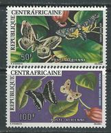 Centrafricaine P.A.  N °  148 / 49  XX Papillons, Les 2 Valeurs  Sans Charnière TB - Repubblica Centroafricana