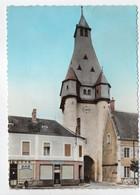 - CPSM DUN-SUR-AURON (18) - Le Beffroi 1969 (BAR - BOUCHERIE) - Photo-Edition ROUSSEL 8615 - - Dun-sur-Auron