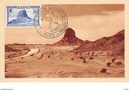 Algérie.n°58059.rocher Du Hoggar.carte Maximum. - Altri
