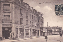 SOISSONS RUE ST MARTIN ANIMATION, VITRINES, CYCLISTE ACHAT IMMEDIAT - Soissons