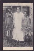 CPA Surinam Nu Féminin Ethnic Femme Nue Nude Circulé Guyane Hollandaise - Surinam