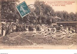 77. N°56357.la Ferté Sous Jouarre.les Gymnastes Aux Fetes De Reuil.etat - La Ferte Sous Jouarre