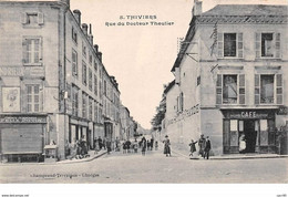 24 . N° 102928 .thiviers .rue Du Docteur Theulier .cafe .hotel . - Thiviers