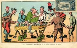 P. NERI  =  La Guerre Au Maroc =  La Bedide Gommerce De Jacob    1963 - Humor