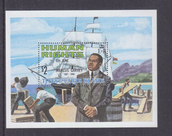 Turks And Caicos 1980 Human Rights Leaders MNH** - Turks & Caicos