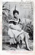 CPA -  NOUVELLES - HEBRIDES -  ILE  D' AOBA -  Femme En Costume De Fete, Revetue D'une Natte Fine En Fibres De Pandanus - Non Classificati