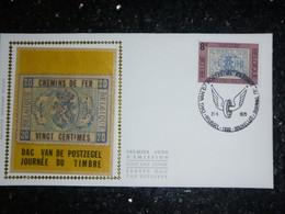 """BELG.1979 1929 FDC Zijde-soie (Brus-Brux) : """" DAG VAN DE POSTZEGEL"""" - 1971-80"""