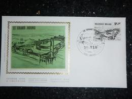 """BELG.1979 1946 FDC Zijde-soie ( Leuven ) : Le Grand Hornu """" - 1971-80"""